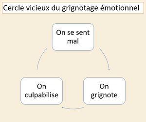 Cercle vicieux du grignotage émotionnel