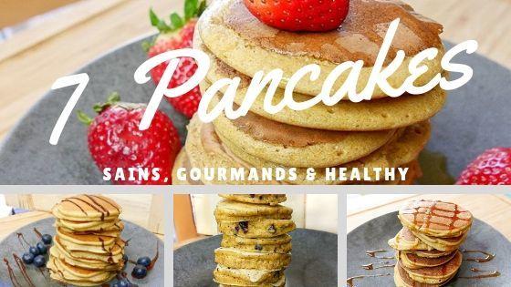 7 Recettes de Pancakes Healthy (Celle à la Ricotta Est Divine) - Cover
