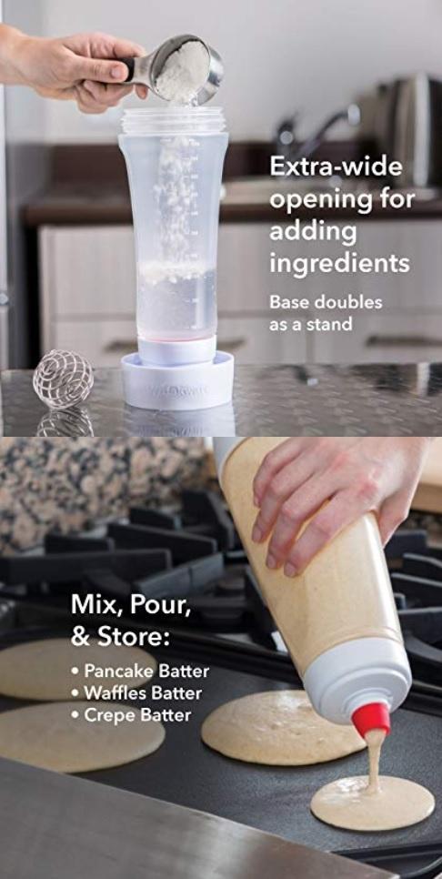 Photo du Shaker pour pâte à Pancakes Helathy