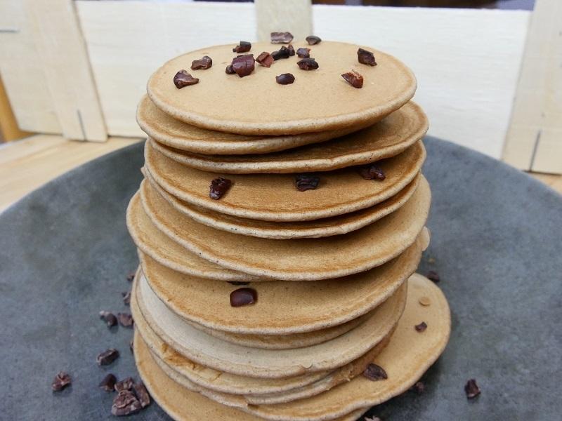 Recettes pancakes sains : à la farine de châtaigne