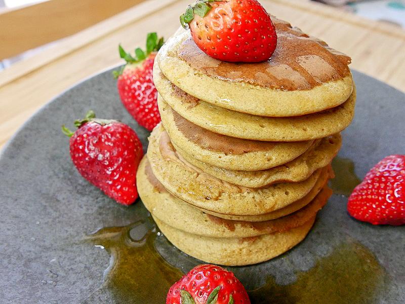 "Pancakes ""Sains & Délicieux"""