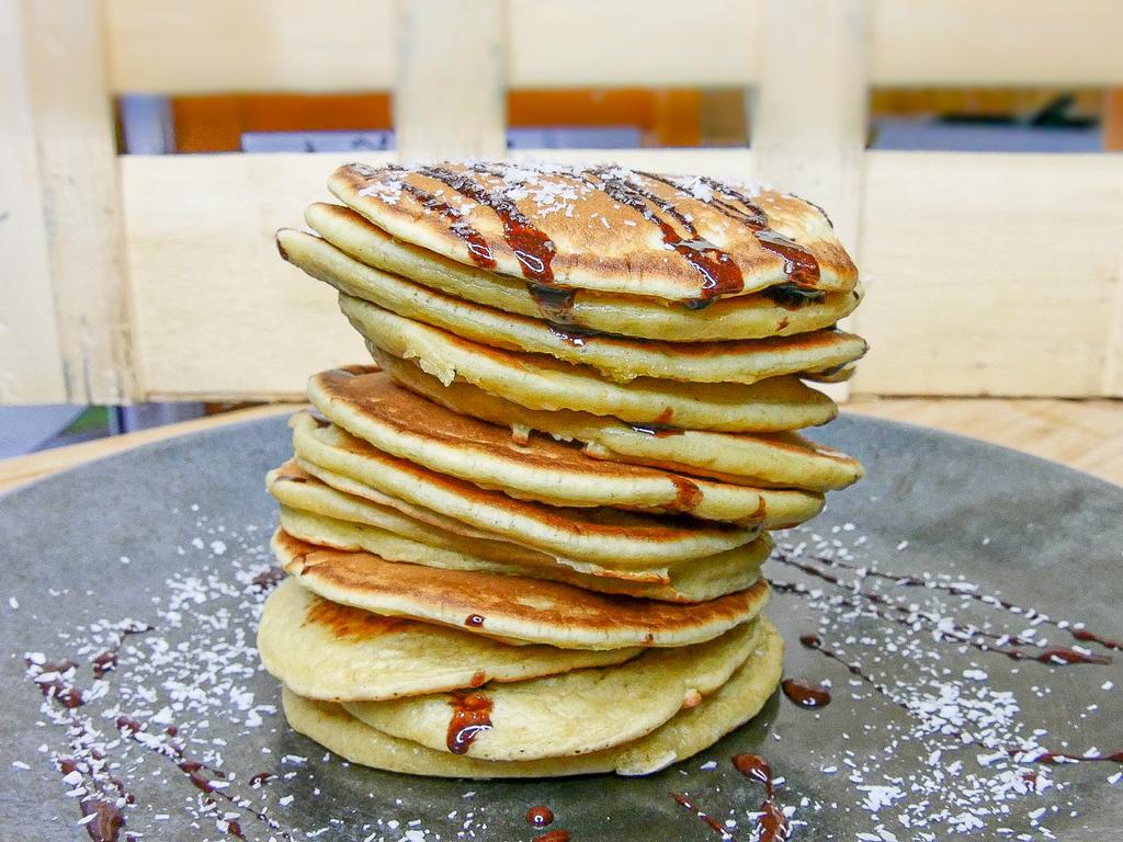 Recettes Pancakes sains : au lait de coco