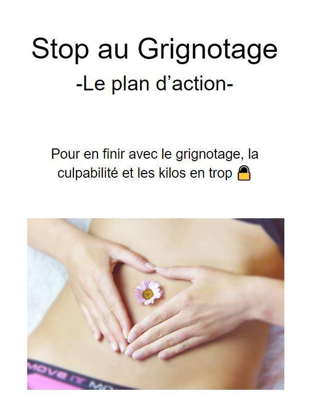 Stop au Grignotage - Le Plan d'Action